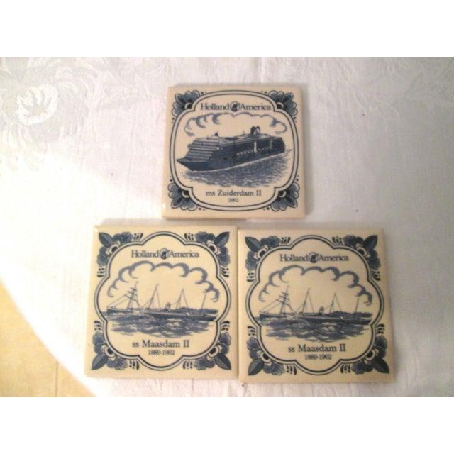Vintage Cruise Line Coasters - Set of 7 - Image 3 of 9