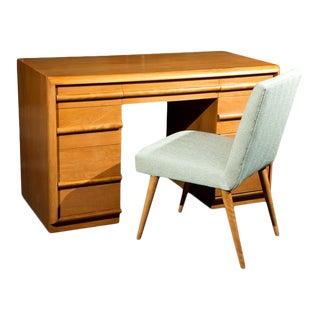 T. H. Robsjohn-Gibbings Desk For Sale