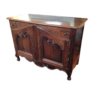 Louis XV Walnut Buffet For Sale