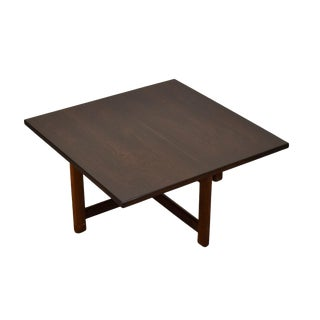 Vintage Scandinavian Danish Modern Rosewood Low End Table