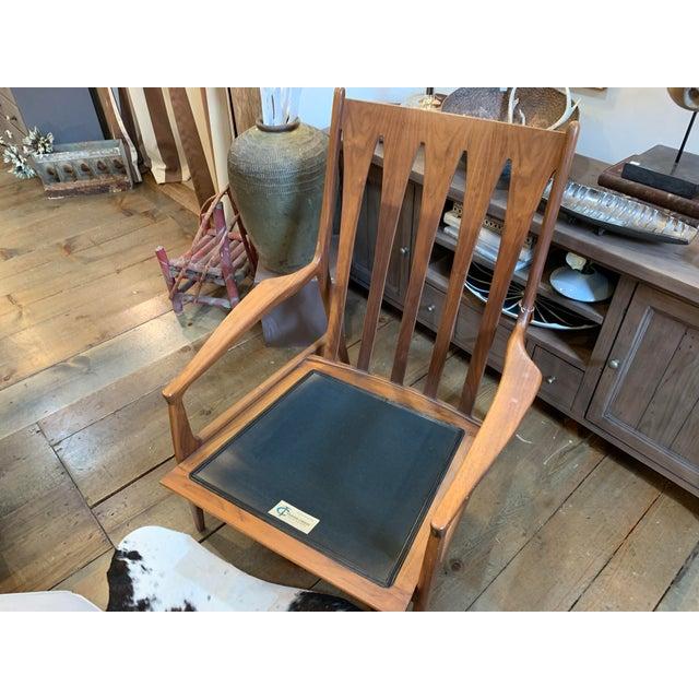 Milo Baughman for Thayer Coggin Vintage Mid-Century Milo Baughman Archie Chair For Sale - Image 4 of 8