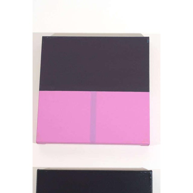 Contemporary Set of Grant Newman Paintings For Sale - Image 3 of 9