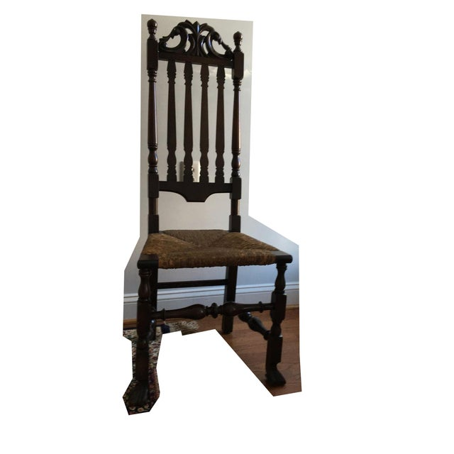 Gothic Revival Highback Chair - Image 2 of 5