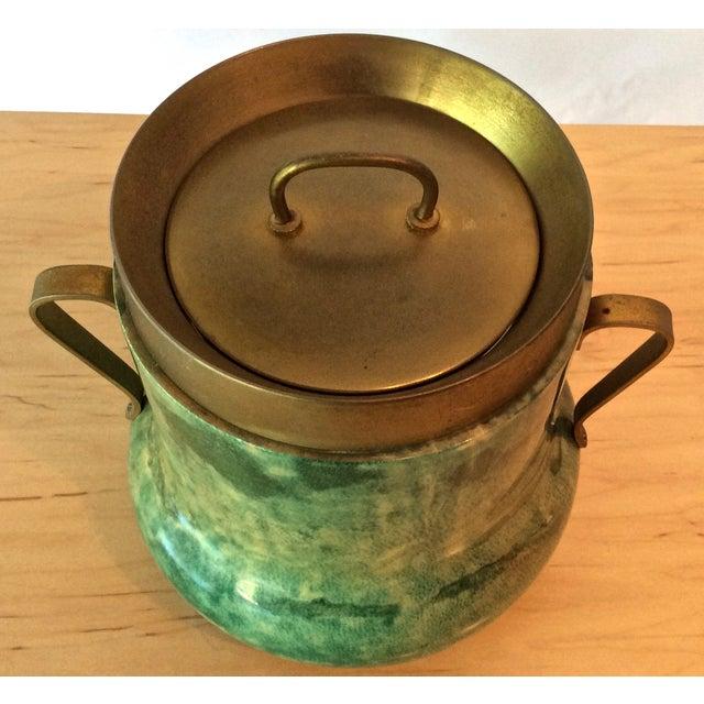 Aldo Tura Lacquered Goatskin Ice Bucket - Image 3 of 8