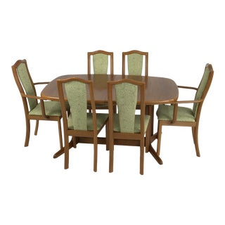 Danish Teak Dining Set by Skovby For Sale