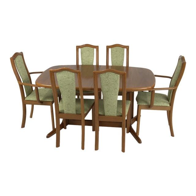 Danish Teak Dining Set by Skovby For Sale