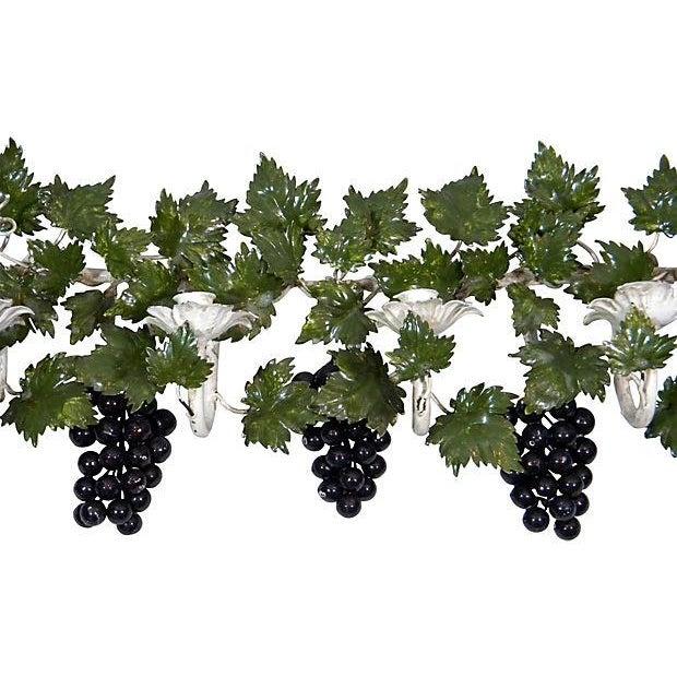 Italian Toleware Grape Candelabrum - Image 2 of 5