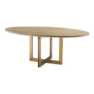 Oval Oak Dining Table | Eichholtz Melchior For Sale