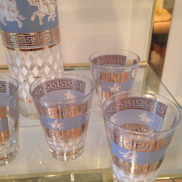 Mid-Century Greek Cocktail Glasses - Set of 6 - Image 6 of 6