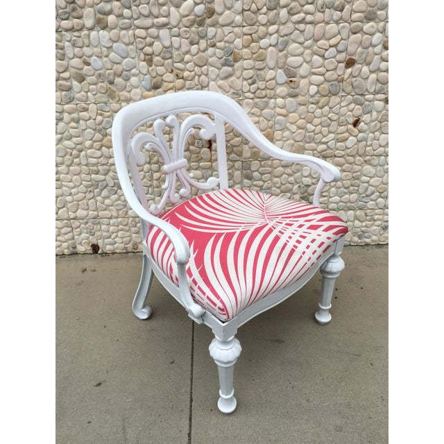 Kessler Industries Set of 4 Dorothy Draper Rare Patio Chairs Made by Kessler For Sale - Image 4 of 9