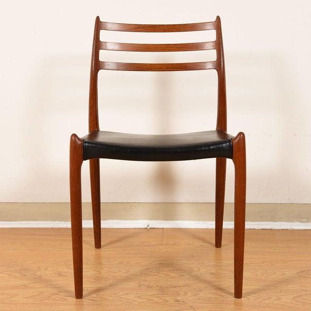 Wood Møller Danish Modern Teak Dining Chairs- Set of 4 For Sale - Image 7 of 10
