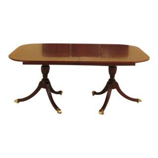 Councill Craftsmen Duncan Phyfe Mahogany Dining Room Table