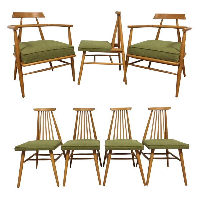Paul Mccobb For O Hearn Dining Chairs Set Of 7 Image 1