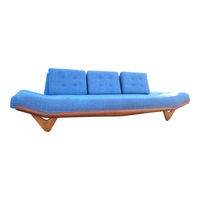 Gorgeous Mid-Century Modern Adrian Pearsall Gondola Couch For Sale