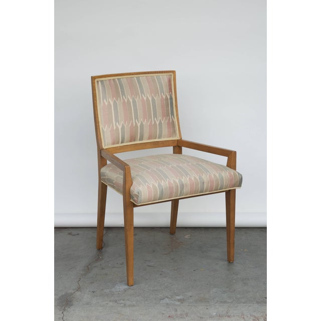 Mid-Century Modern Set of Six Elegant Mid-Century Modern Armchairs and Chairs For Sale - Image 3 of 9