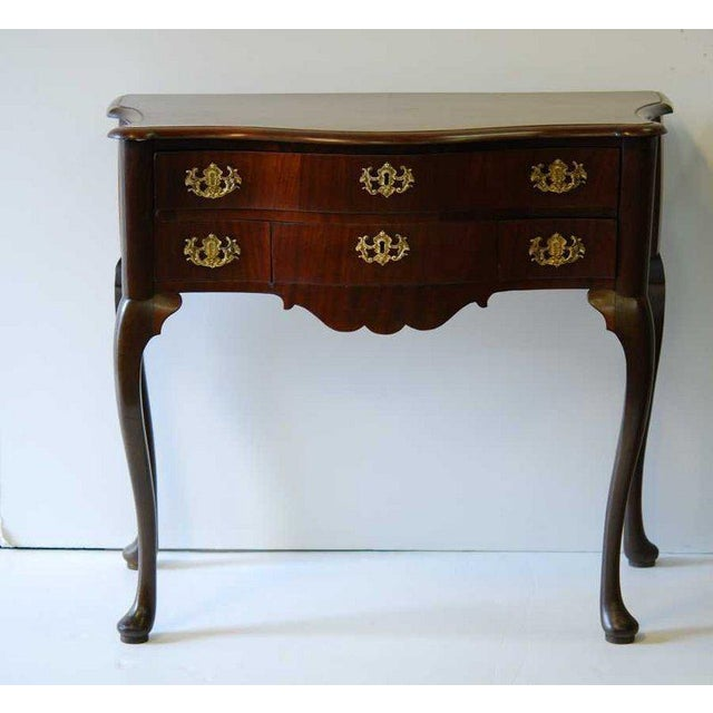Dutch Mahogany Dressing Table, 18th Century For Sale - Image 4 of 4