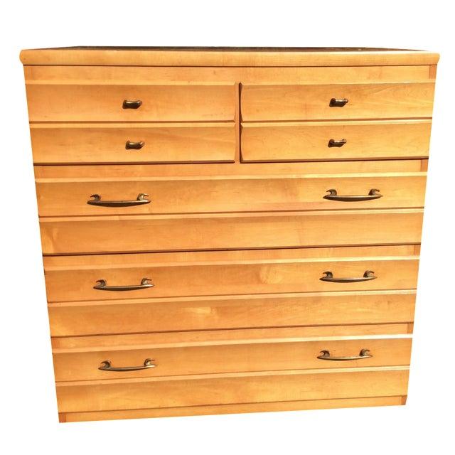 Kling Mid-Century Maple Dresser For Sale
