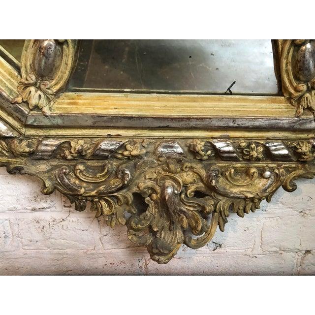 Mid 19th Century 19th Century Pareclose Mirror For Sale - Image 5 of 6