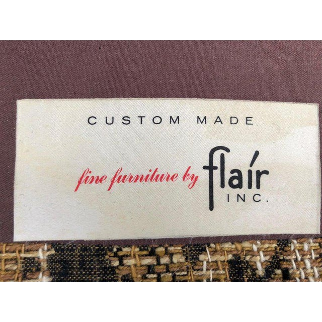 """Brown Bernhardt """"Flair"""" Club Chairs - a Pair For Sale - Image 8 of 11"""