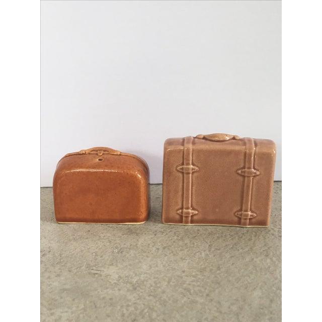 Vintage Suitcase Salt & Pepper Shakers - Image 3 of 6