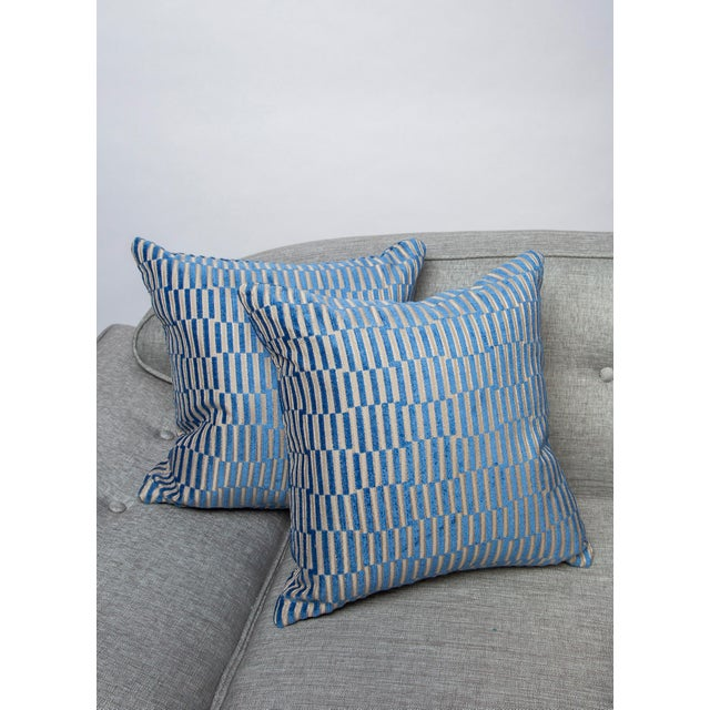 """18""""x 18"""" Geometric Manuel Canovas Down Pillows For Sale In Raleigh - Image 6 of 8"""