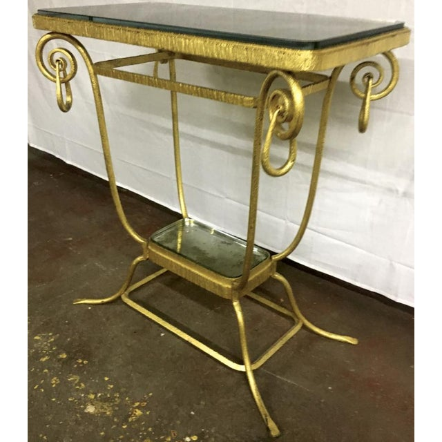 Sue Et Mare Refined Pair of 2 Tier Console For Sale - Image 4 of 8