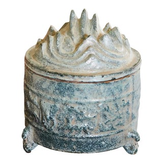 Transitional Green Accessory Urn For Sale