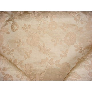 Traditional Kravet Couture Ceremony Shell Silk Floral Damask Upholstery Fabric - 10-1/2y For Sale