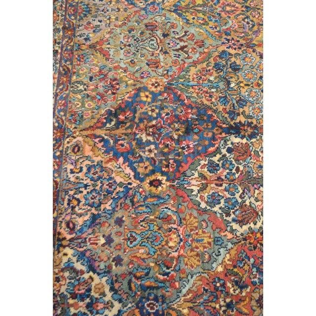 Karastan Multicolor Panel 5.9 X 6.9 Area Rug # 717 For Sale - Image 12 of 13
