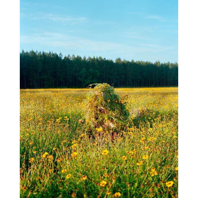 Contemporary Jeremy Chandler, Ghillie Suit 1 (Flowers), 2011 For Sale - Image 3 of 3
