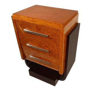 Art Deco Cabinet in Rosewood and Silverbirch-Butveneer