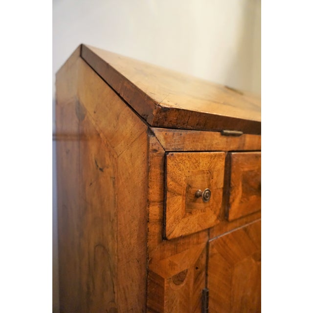 Wood 18th Century Walnut Secretaire For Sale - Image 7 of 13