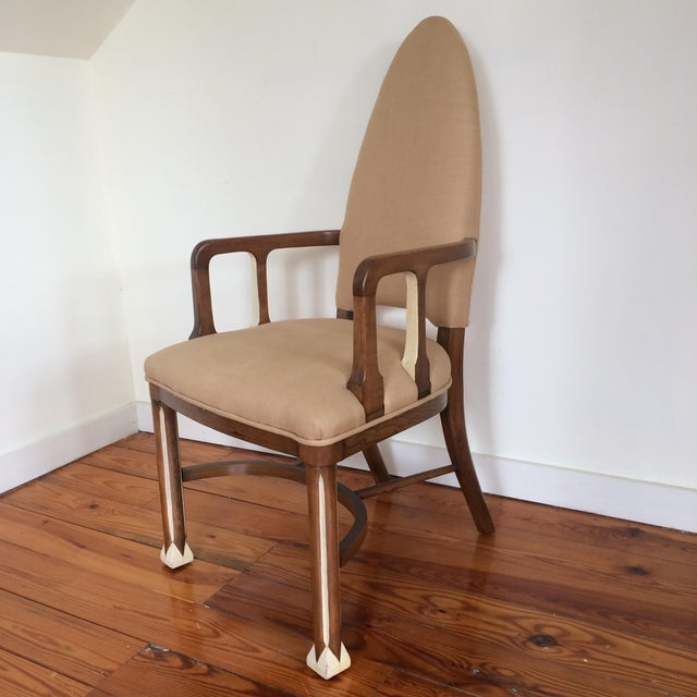 1920's Metropolis Armchair For Sale - Image 9 of 11