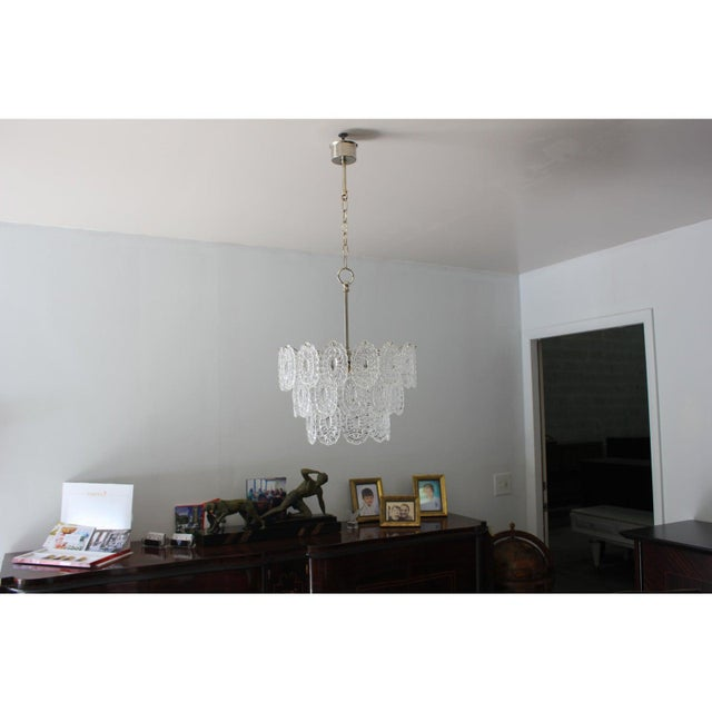 Murano Italian Modern Chandelier by Murano Glass, Circa 1960s For Sale - Image 4 of 12