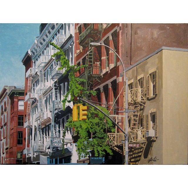 Mercer Street Giclee Print For Sale
