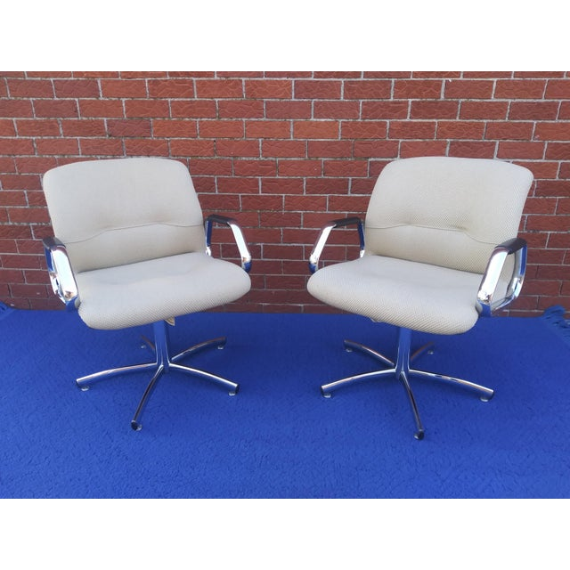 1980's Vintage Steelcase Chair For Sale - Image 11 of 12