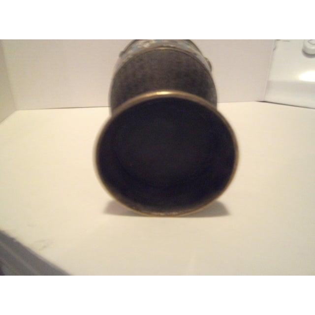 Large Antique Champleve Urn - Image 8 of 11