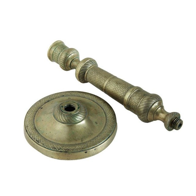 French Empire Bronze Candlestick. Early 19th Century For Sale - Image 4 of 5