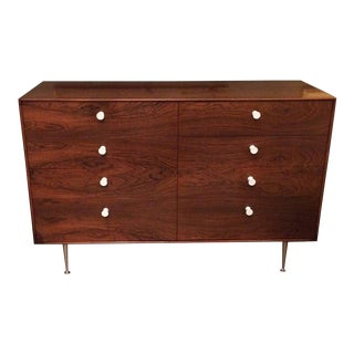 George Nelson for Herman Miller Early Thin Edge Eight Drawer Rosewood Dresser