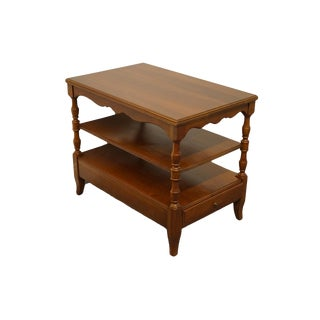 "Pennsylvania House Solid Cherry Country French 18x28"" Chairside End Table 761/1747 For Sale"