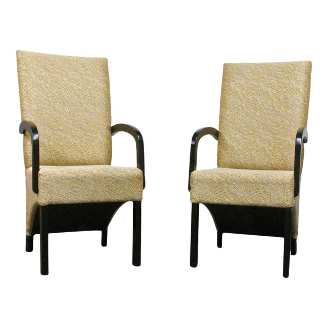 Custom Designed Chairs - A Pair - Image 1 of 5