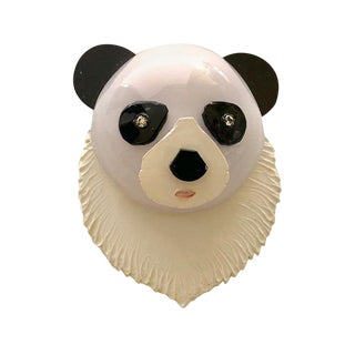 Cilea Paris Panda Pin For Sale