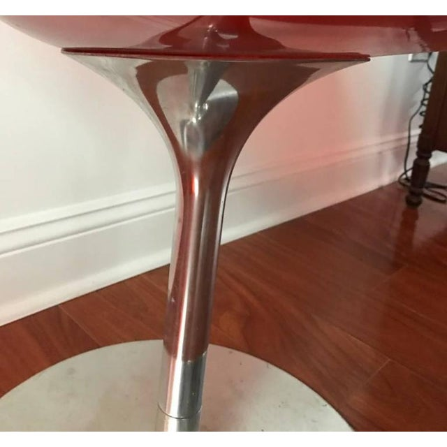 1970s Italian Mid-Century Philippe Starck for Kartell Acrylic Eroc Chairs - Set of 6 For Sale - Image 5 of 6