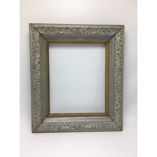 Two Tone Vintage Frame For Sale In Charleston - Image 6 of 6