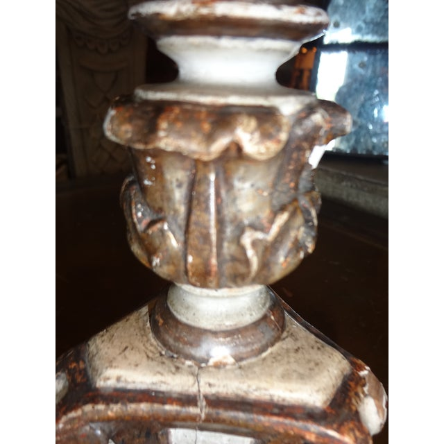 19th Century Italian Candle Holder, Pair - Image 7 of 10