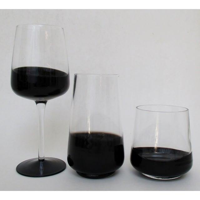 Black Dipped Glassware - Set of 14 - Image 3 of 8