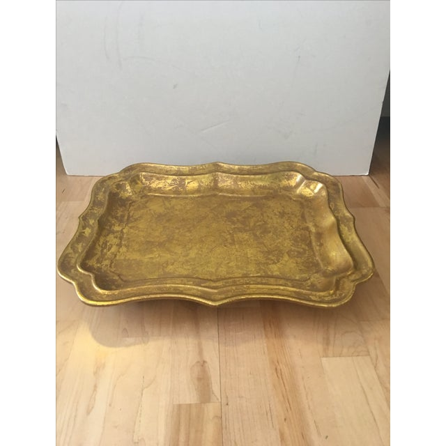 Gilded Ceramic Tray - Image 2 of 5