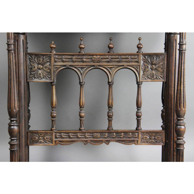 17th Century Spanish Baroque Giltwood and Bone Inlaid Vargueno For Sale - Image 5 of 11