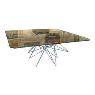 Rene Brancusi Sculpture Metal Coffee Table For Sale
