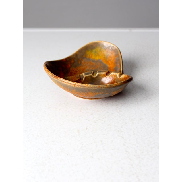 Mid 20th Century Mid-Century Haeger Pottery Ashtray For Sale - Image 5 of 9
